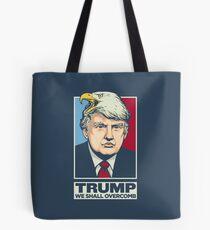 We Shall Overcomb Donald Trump Tote Bag