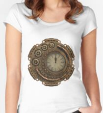 CyberPunk, Steampunk, Technopunk  #CyberPunk #Steampunk #Technopunk Women's Fitted Scoop T-Shirt