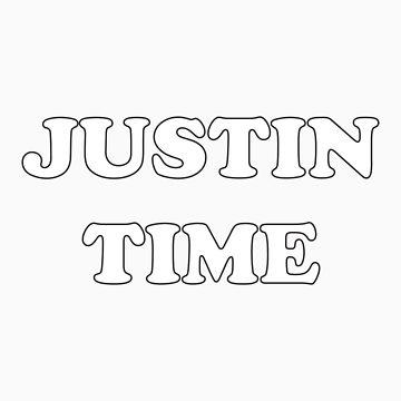 JUSTIN TIME by jorginaanderson