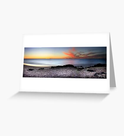 Calm Seas Greeting Card