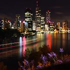 Brisbane Skyline by Yashani Shantha