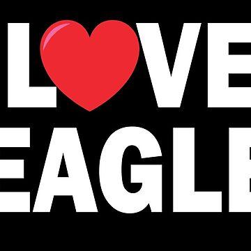 I Love Beagles - Beagle Dog Lover Gift by sols