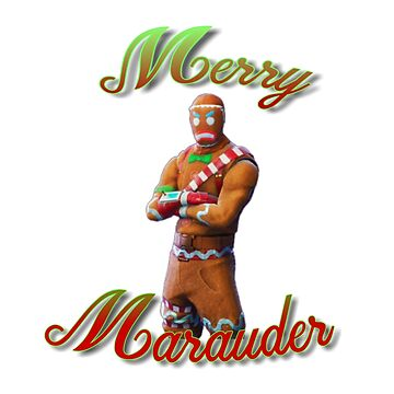 Merry Marauder-Skin-Christmas-Gingerbread Man de lrsimpleprints
