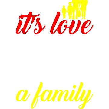 Family Love Makes a Family by KanigMarketplac