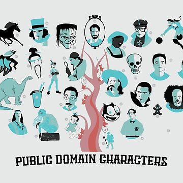 Public Domain Characters by copyme