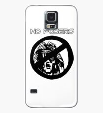 No Posers Version 3 - Ironic Shirt Case/Skin for Samsung Galaxy