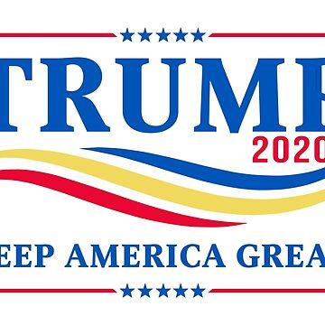 TRUMP 2020 - KEEP AMERICA GREAT! by boxsmash