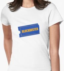 Blockbuster Women's Fitted T-Shirt