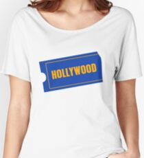 Hollywood Women's Relaxed Fit T-Shirt