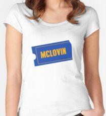 Mclovin Women's Fitted Scoop T-Shirt