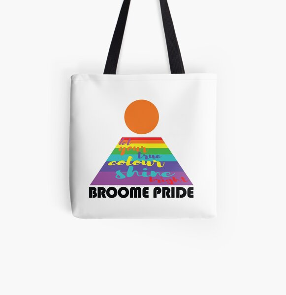 Let Your Colours Shine Bright  All Over Print Tote Bag