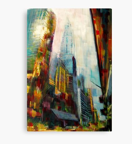 Chrysler building,New york Skyline Canvas Print