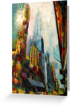 Chrysler building,New york Skyline by Samuel Durkin