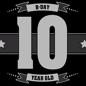B-day 10 (Light&Darkgrey) by ipiapacs