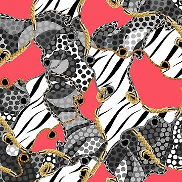 Zebra Skin, Dots and Chains by eduardodoreni