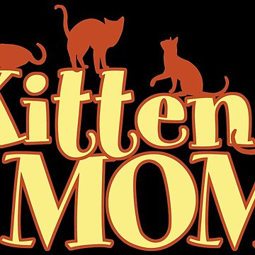 Kitten Mom by Vectorbrusher
