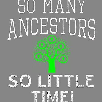 Funny Im a Genealogy Buff gift design by LGamble12345
