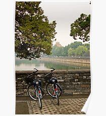 Bicycles in Beijing Poster