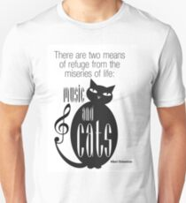 The Well-Read cat - 8 T-Shirt