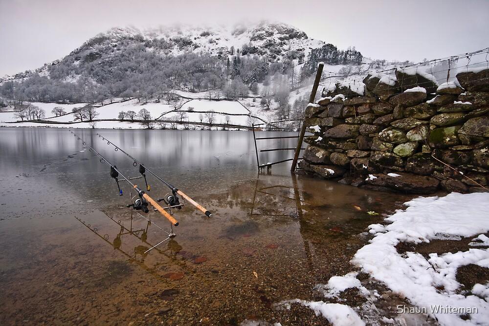 Gone fishing by Shaun Whiteman