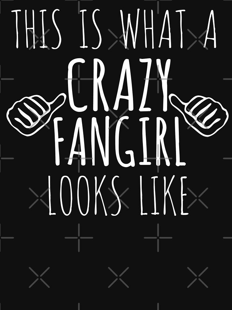 así es como luce una fangirl loca (blanca) de FandomizedRose