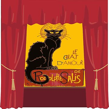 Le Chat Noir DAmour Theatre Stage by taiche