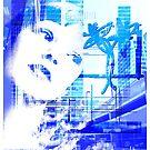 Blue city life by Olga