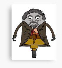 John Hurt as The Doctor Canvas Print