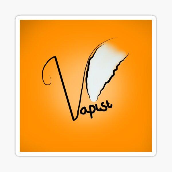 Vapist (Orange) Sticker