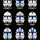Troopers of the 501st Legion by nothinguntried