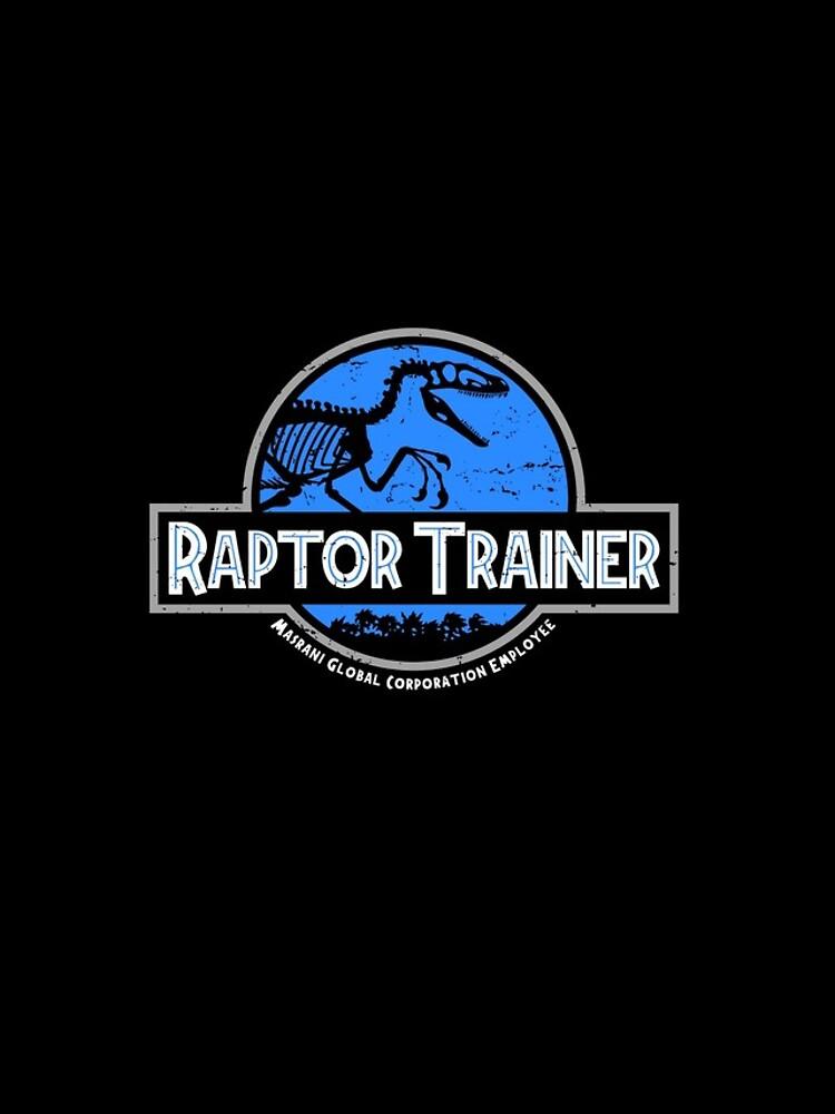 Jurassic World Raptor Trainer de Adho1982