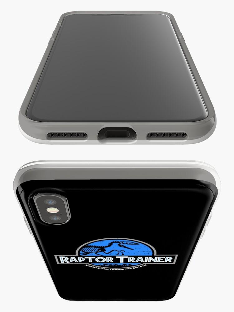 Vista alternativa de Funda y vinilo para iPhone Jurassic World Raptor Trainer