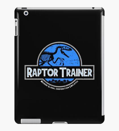 Jurassic World Raptor Trainer iPad Case/Skin