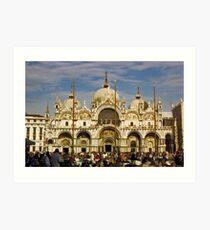 Piazza San Marco, Venice, Italy Art Print