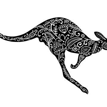 Kangaroo by Kudryashka
