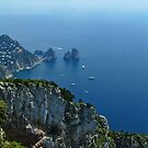 The Faraglioni Rocks - Capri Italy by jules572