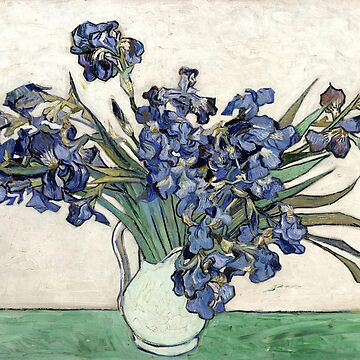 The Irises, Vincent van Gogh by fourretout