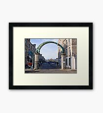 Commercial Quay Framed Print