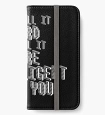 You call it nerd I call it more intelligent than you iPhone Wallet/Case/Skin