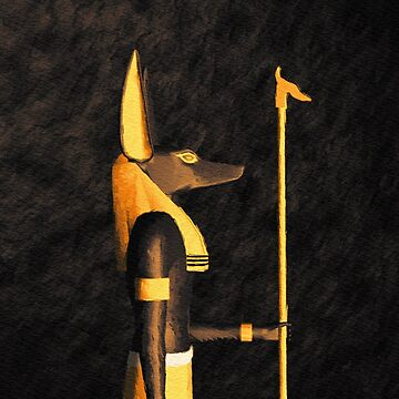Anubis, Ancient God of Egypt by SerpentFilms