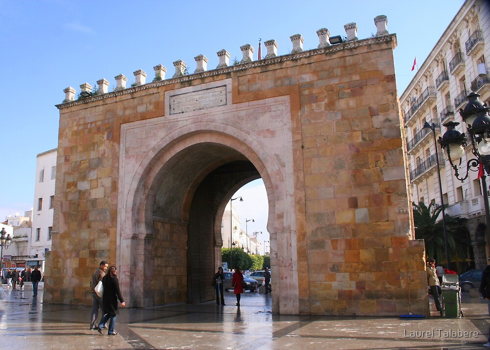 Gateway to the Medina in Tunis by Laurel Talabere