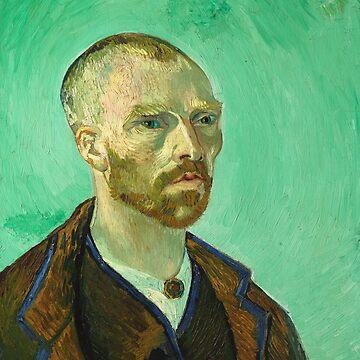 Self-portrait dedicated to Gauguin, Vincent Van Gogh by fourretout
