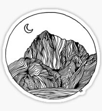 Mount Morrison Peak  Sticker