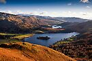 View of Grasmere & Rydal Water, Cumbria by David Lewins