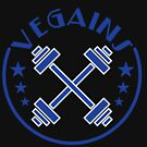 """Vegains"" tee design. Makes a perfect gift to your awesome friends and family! Grab yours too!  by Customdesign200"