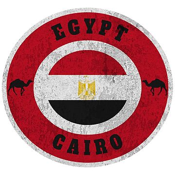 Egypt Cairo Vintage / Gift Cairo Camel by Rocky2018