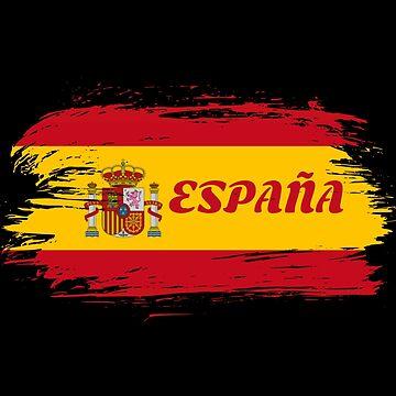 Spain Flag / Gift Madrid Barcelona by Rocky2018