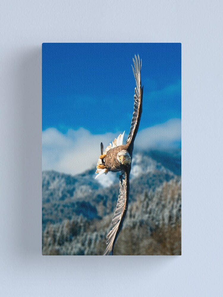 Alternate view of Crosswind Canvas Print