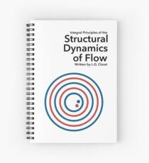 Cuaderno de espiral Dinámica estructural del flujo.