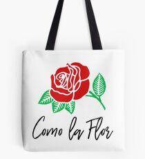 """Como la Flor"" Selena Quintanilla Tote Bag"